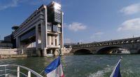 Ministère et pont de Bercy