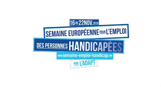 La Semaine pour l'emploi des personnes handicapées affirme sa dimension européenne
