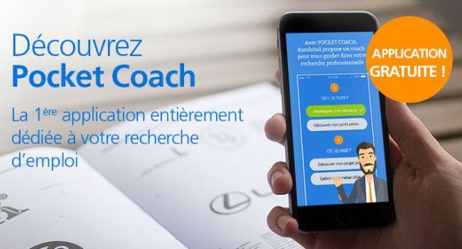 Pocket Coach : l'appli pour apprendre à chercher un emploi